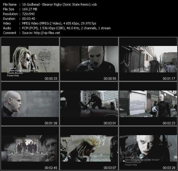 Godhead video screenshot