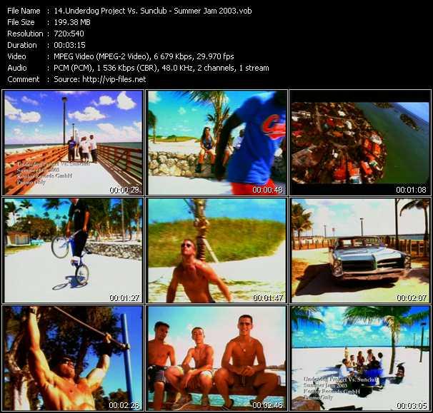 Underdog Project Vs. Sunclub video screenshot