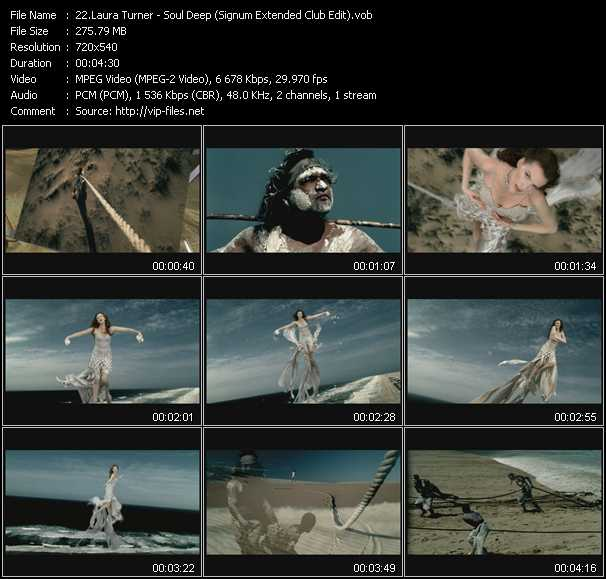 Laura Turner video screenshot