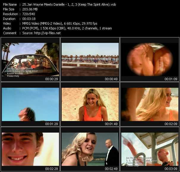 Jan Wayne Meets Danielle video screenshot