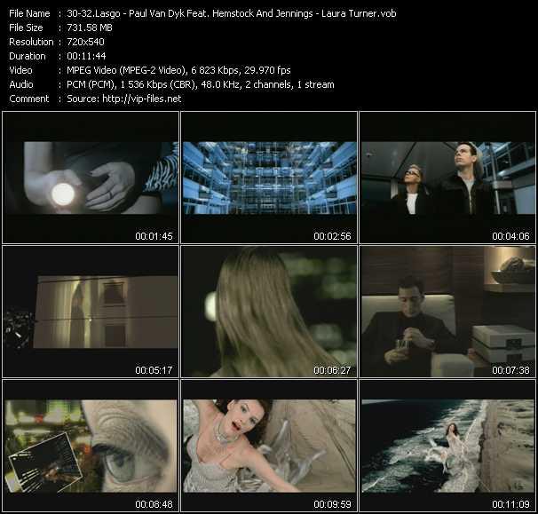 Lasgo - Paul Van Dyk Feat. Hemstock And Jennings - Laura Turner video screenshot