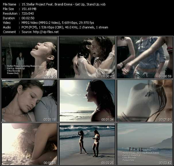 Stellar Project Feat. Brandi Emma video screenshot