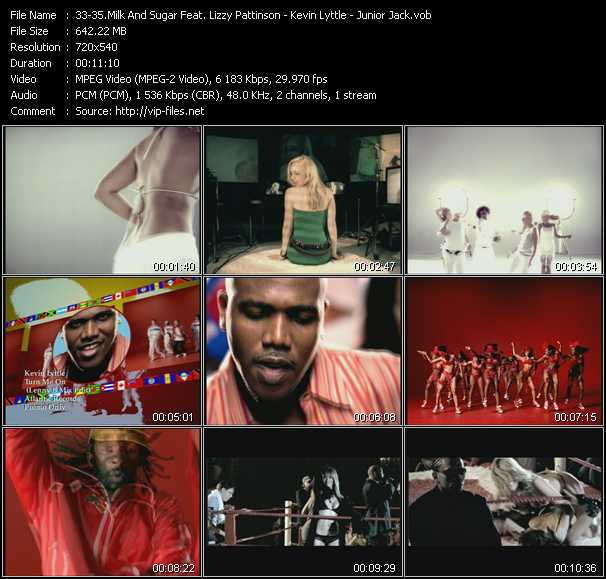 Milk And Sugar Feat. Lizzy Pattinson - Kevin Lyttle - Junior Jack video screenshot