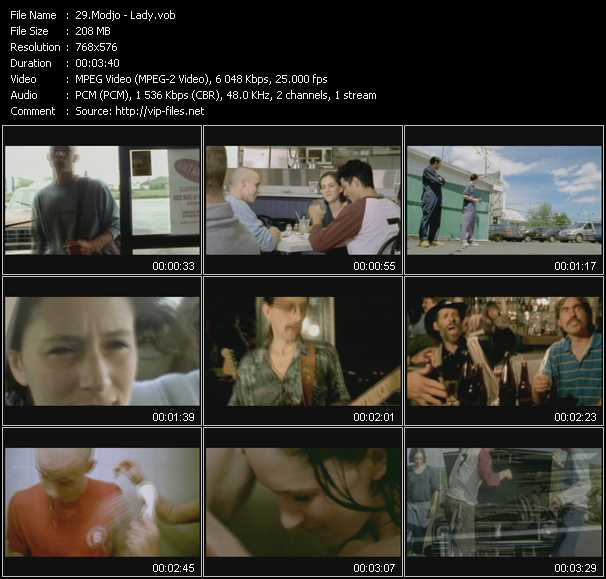 video Lady screen