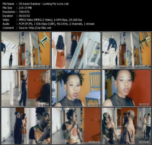 Karen Ramirez video screenshot