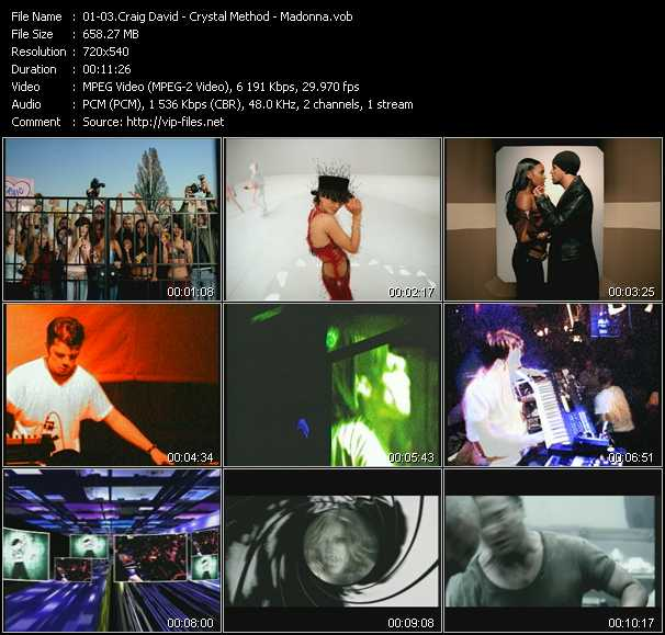 video What's Your Flava? (Ford's Rewinder Edit) - Busy Child (Club Mix) - Die Another Day (Brother Brown Re-Mix) screen