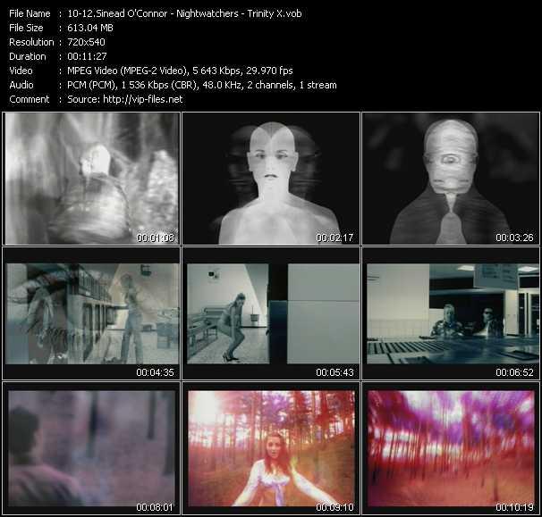 Sinead O'Connor - Nightwatchers - Trinity X video screenshot