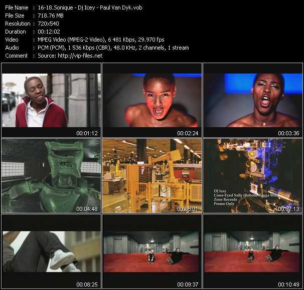 Sonique - Dj Icey - Paul Van Dyk video screenshot