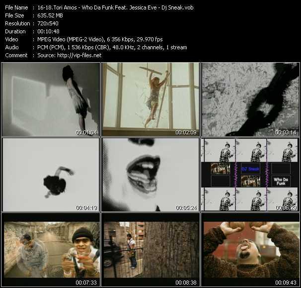Tori Amos - Who Da Funk Feat. Jessica Eve - Dj Sneak video screenshot