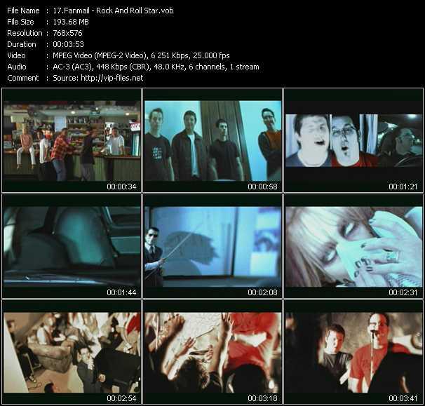 Fanmail video screenshot