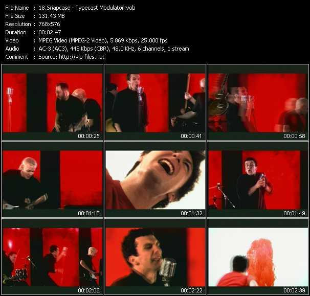 Snapcase video screenshot