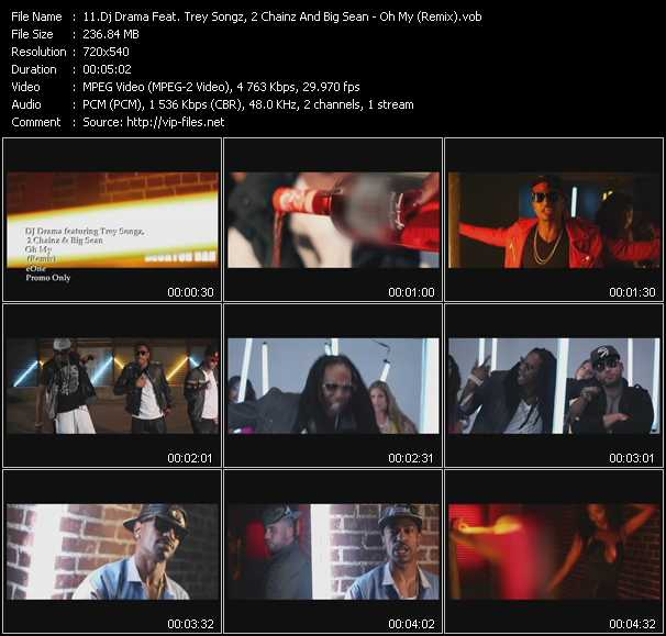 Dj Drama Feat. Trey Songz, 2 Chainz And Big Sean video screenshot