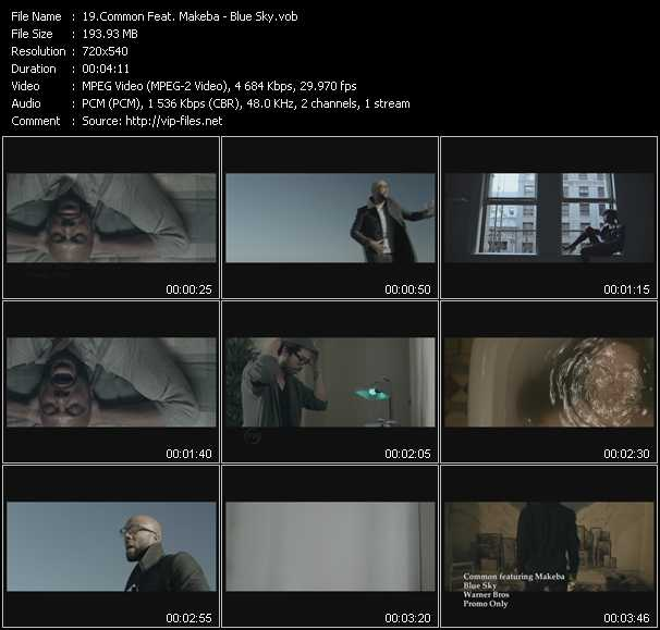 Common Feat. Makeba video screenshot