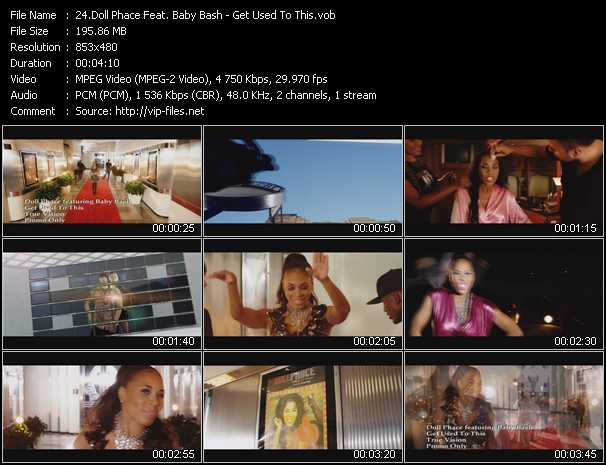 Doll Phace Feat. Baby Bash video screenshot