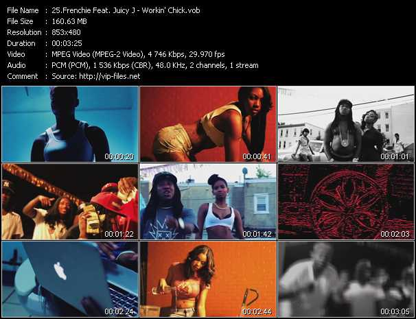 Frenchie Feat. Juicy J video screenshot