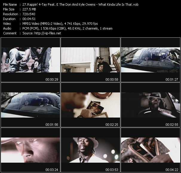 Rappin' 4-Tay Feat. E The Don And Kyle Owens video screenshot