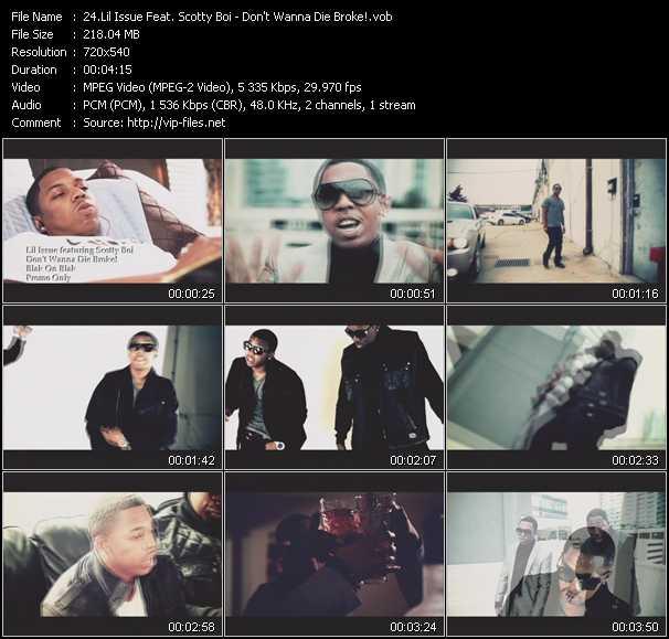 Lil' Issue Feat. Scotty Boi video screenshot