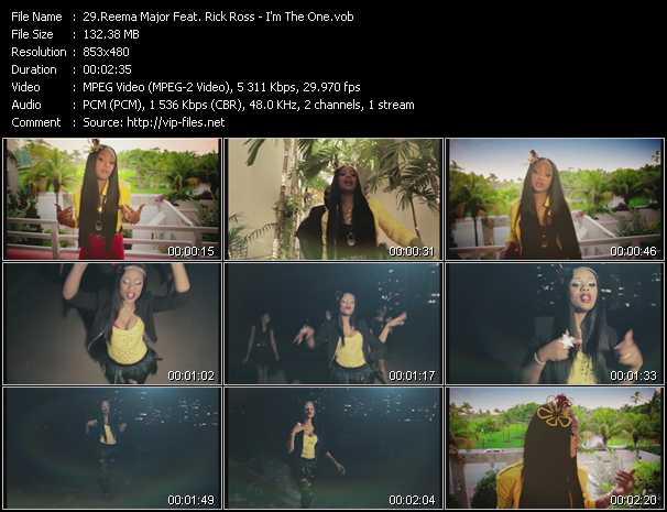 Reema Major Feat. Rick Ross video screenshot