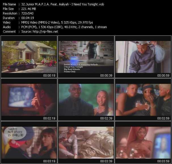 Junior M.A.F.I.A. Feat. Aaliyah video screenshot