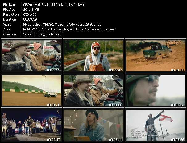 Yelawolf Feat. Kid Rock video screenshot