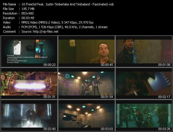 FreeSol Feat. Justin Timberlake And Timbaland video screenshot