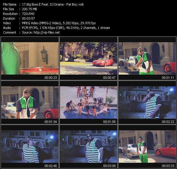 Big Boss E Feat. DJ Drama video screenshot