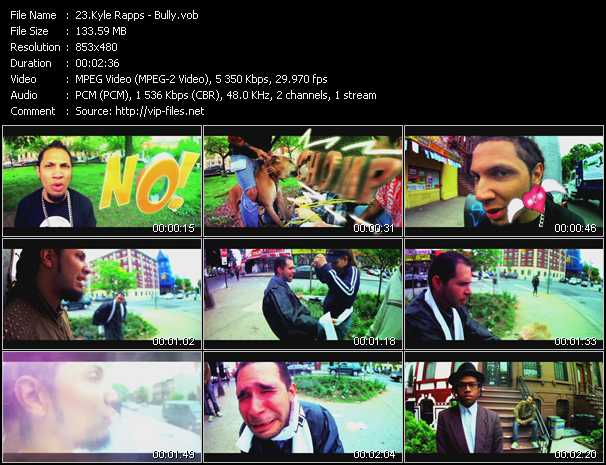 Kyle Rapps video screenshot