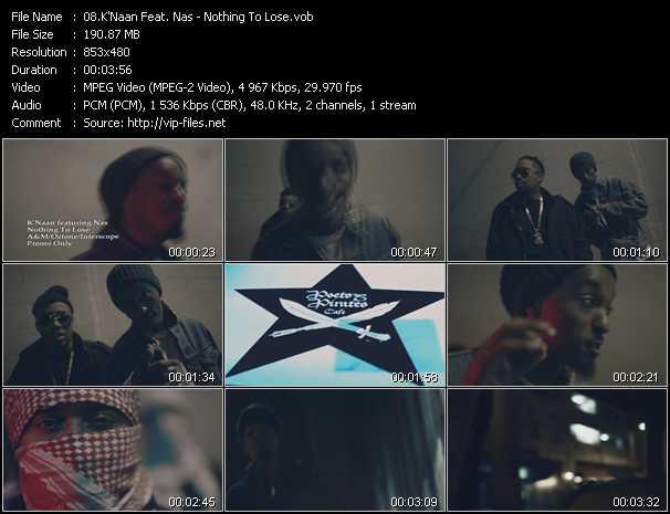 K'Naan Feat. Nas video screenshot