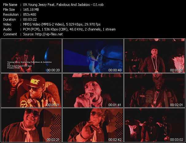 video OJ screen