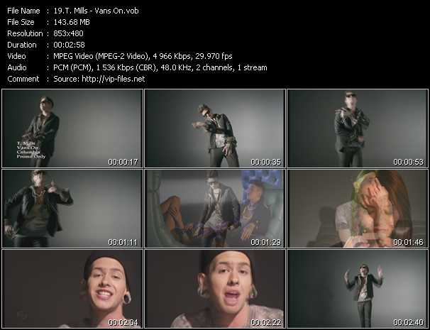 T. Mills video screenshot