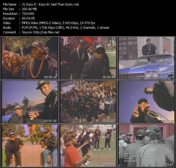 Eazy-E video screenshot