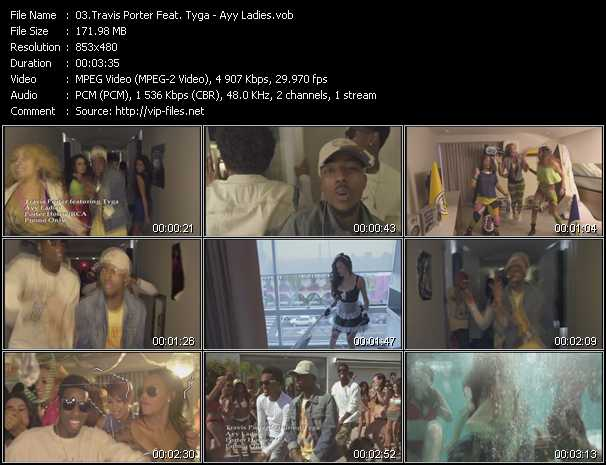 Travis Porter Feat. Tyga video screenshot