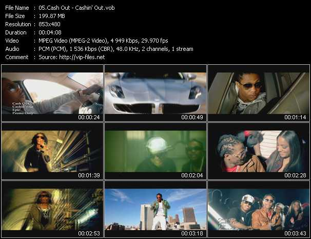 Cash Out video screenshot