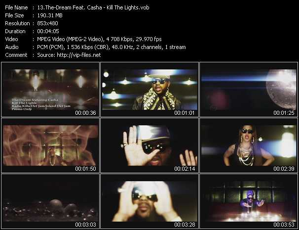 The-Dream Feat. Casha video screenshot