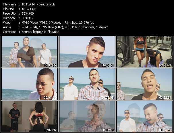 F.A.M. video screenshot