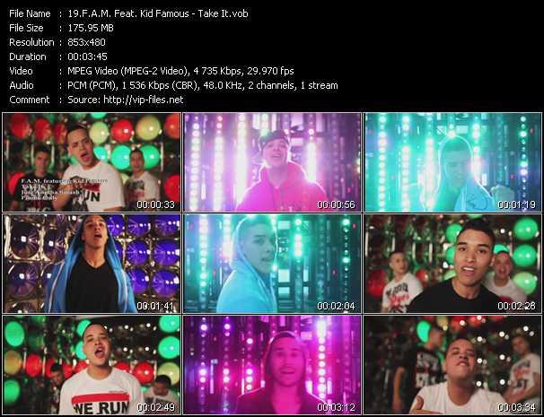 F.A.M. Feat. Kid Famous video screenshot