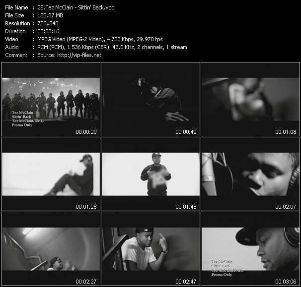 Tez McClain video screenshot