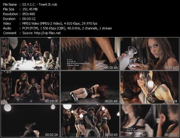 V.I.C. video screenshot