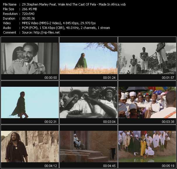 Stephen Marley Feat. Wale And The Cast Of Fela video screenshot
