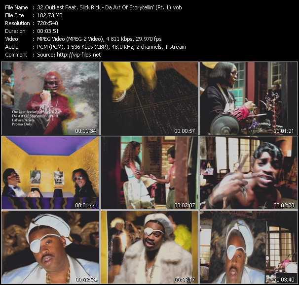 Outkast Feat. Slick Rick video screenshot