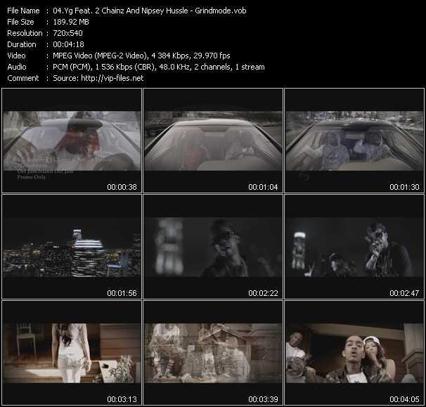 Yg Feat. 2 Chainz And Nipsey Hussle video screenshot