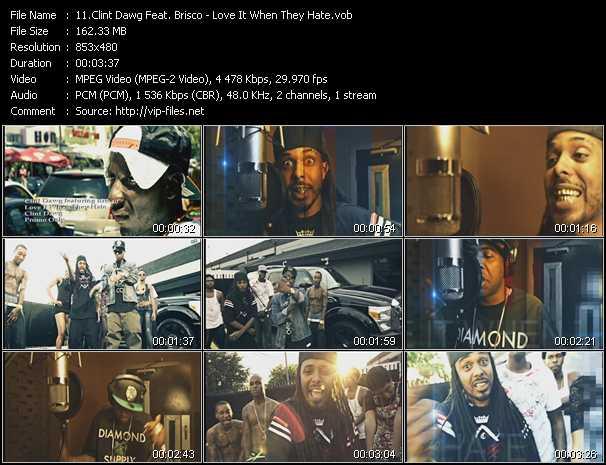 Clint Dawg Feat. Brisco video screenshot