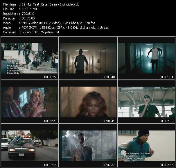 Mgk Feat. Ester Dean video screenshot