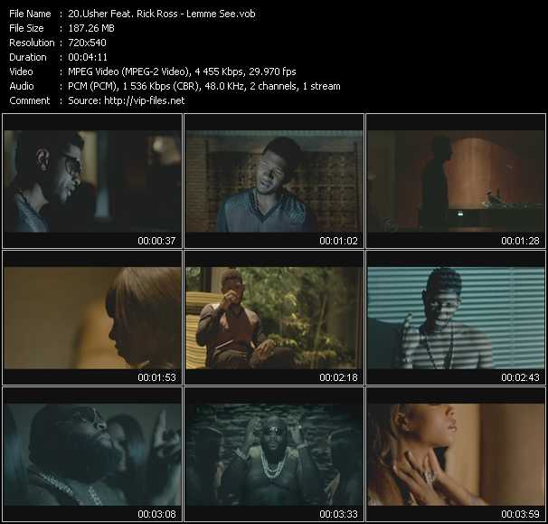 Usher Feat. Rick Ross video screenshot