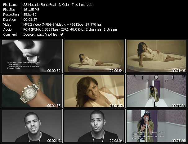 Melanie Fiona Feat. J. Cole video screenshot