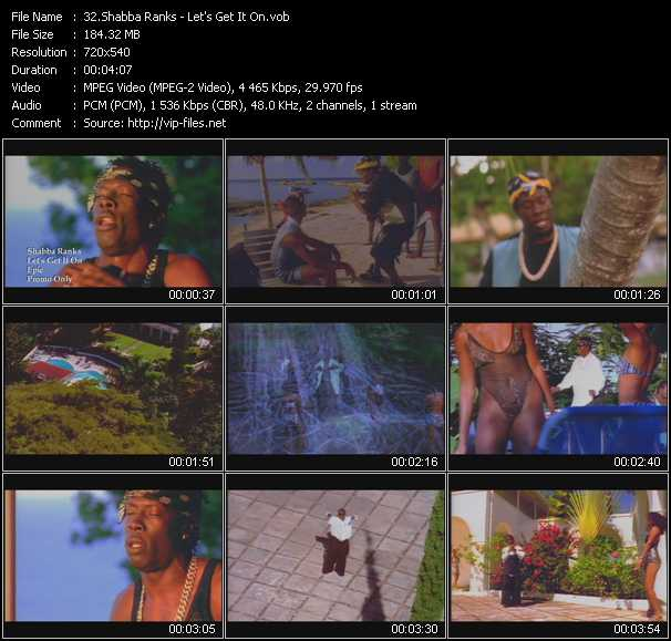 Shabba Ranks video screenshot