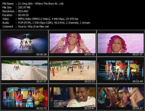 Omg Girlz video screenshot
