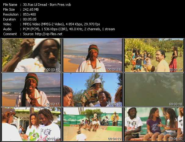 Ras Lil' Dread video screenshot