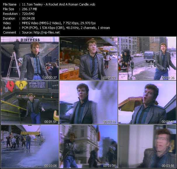 Tom Teeley video screenshot