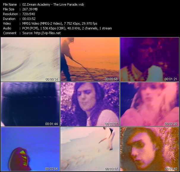 Dream Academy video screenshot
